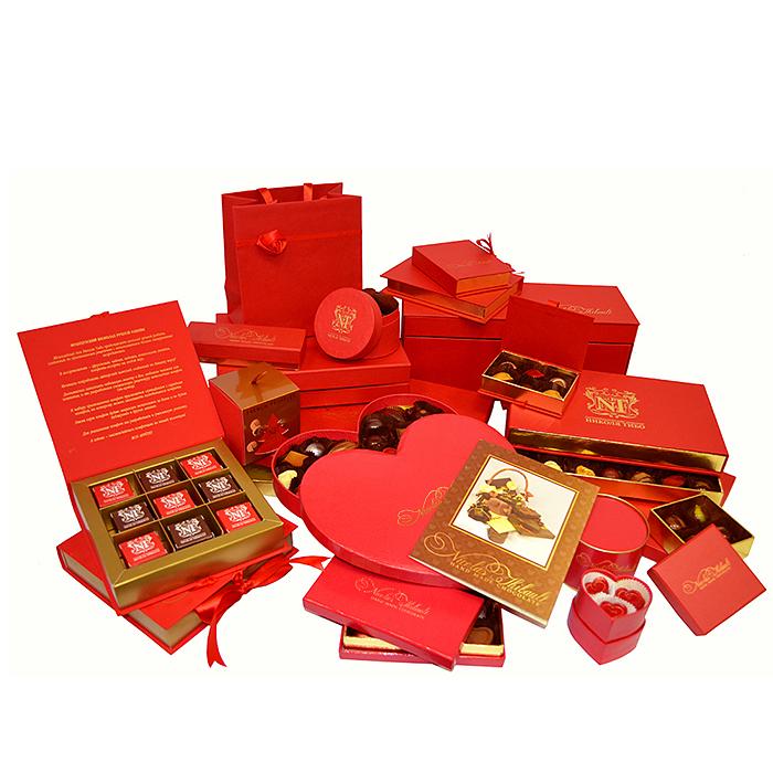 Коробочки для шоколадных конфет ручной работы, мармелада и макаронс
