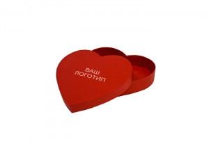 "Подарочная коробка ""Красное сердце"""